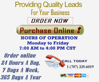 Order Business Opportunity Leads